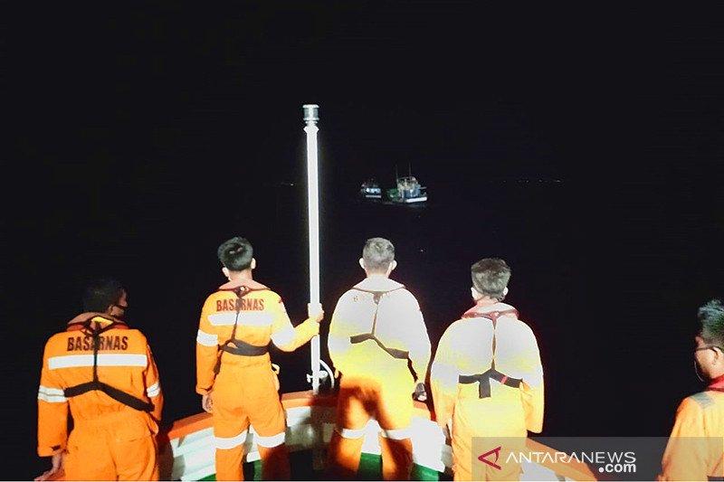 Seluruh ABK KM Inka Mina berhasil diselamatkan Basarnas Ternate