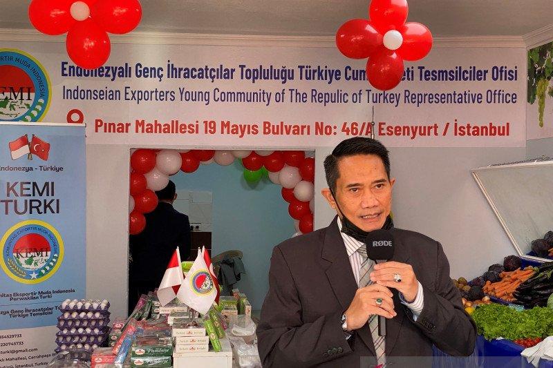 Dorong ekspor ke Turki, Konjen di Istanbul resmikan toko Indonesia