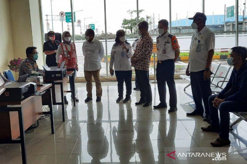 Jumlah penumpang di Terminal Pulogebang menurun