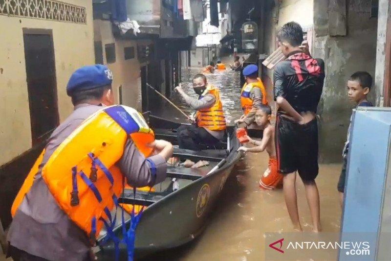 BPBD: Banjir di Jakarta tertangani dengan baik