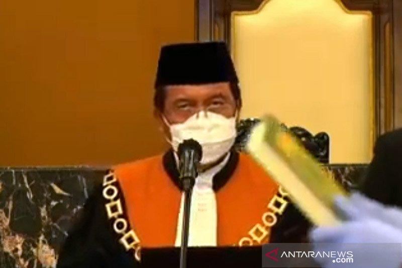 Undip kukuhkan Ketua MA jadi guru besar ilmu hukum pidana