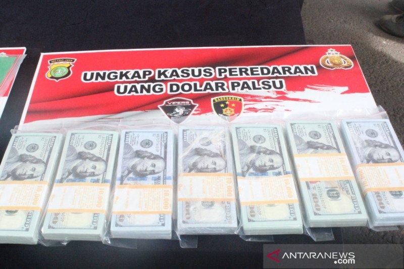 Polres Tangerang Selatan sita uang palsu Rp2,13 miliar