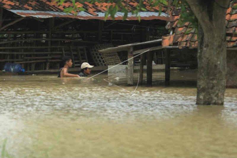 BPBD Indramayu masih data daerah terendam banjir luapan sungai