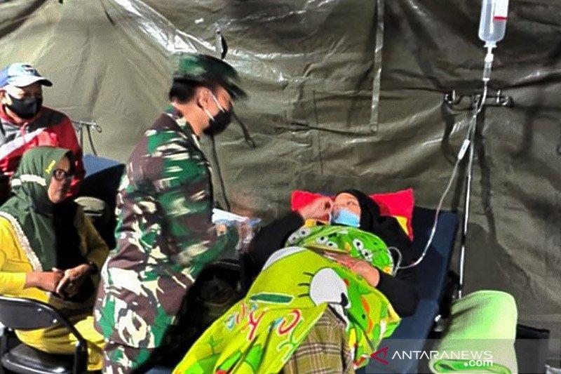 1.230 pasien pengungsi gempa Sulbar telah dilayani RSL TNI-AD