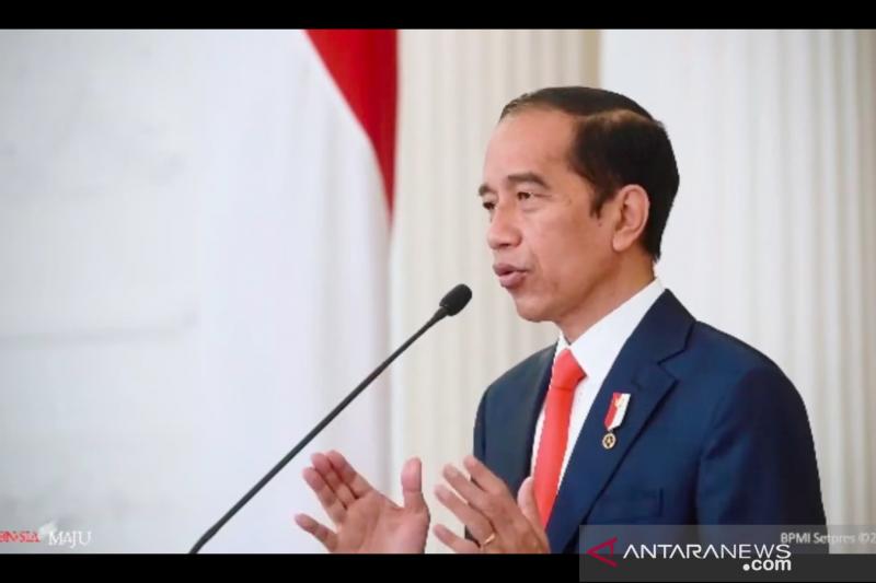 Investasi geser ke luar Jawa, Presiden sebut itu modal untuk bangkit