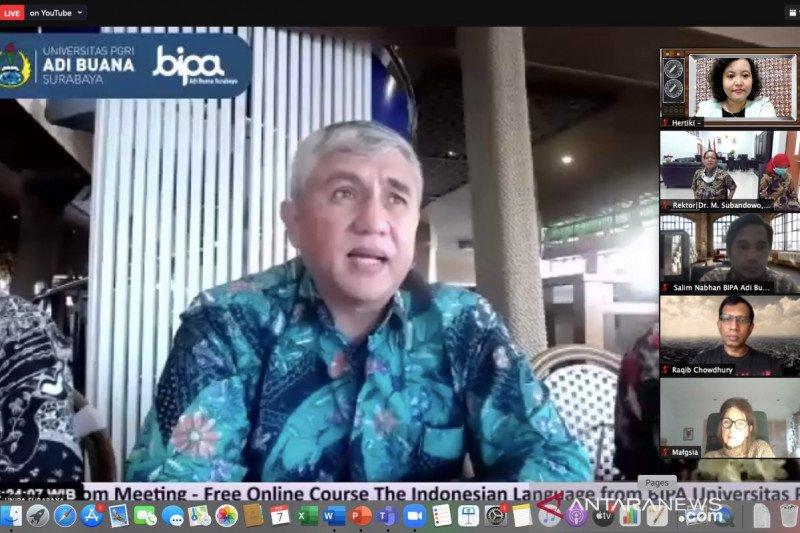 Mahasiswa Vietnam belajar bahasa Indonesia secara daring