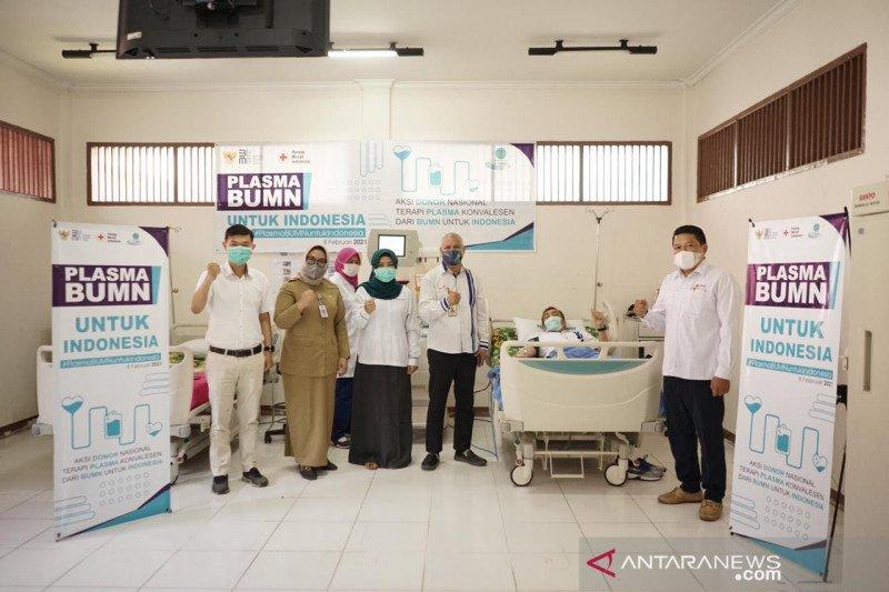 Satgas BUMN Kalbar ikut laksanakan donor plasma konvalesen