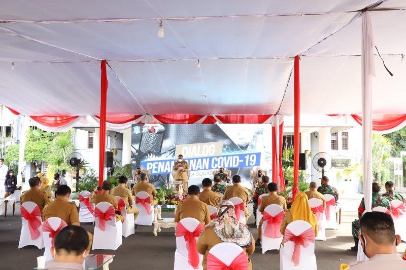 PPKM mikro siap diberlakukan di Surabaya