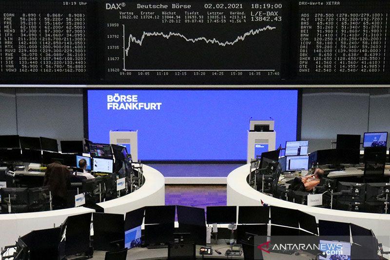 Bursa Eropa capai rekor tertinggi, terkerek optimisme pemulihan global