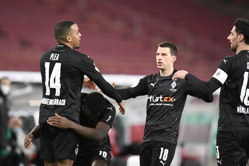 Gladbach vs Man City dimainkan di Budapest