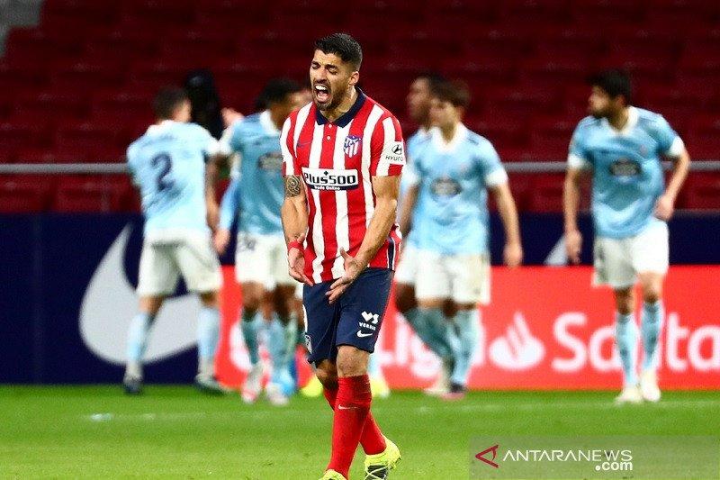 Liga Spanyol – Celta Vigo tahan imbang Atletico Madrid