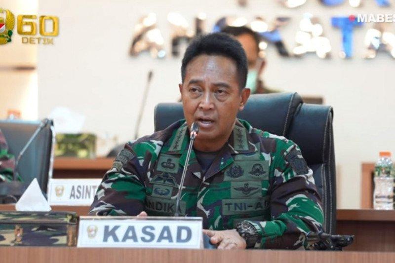 Kasad: TNI AD terus kawal pemulihan pascagempa Sulawesi Barat