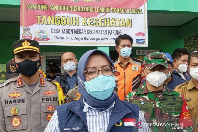 Kabupaten Bogor terapkan PPKM berbasis mikro hingga 22 Februari 2021