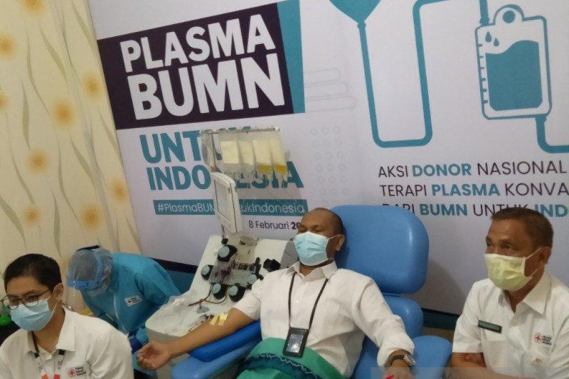 PMI Banjarmasin kumpulkan 76 kantong darah plasma konvalesen