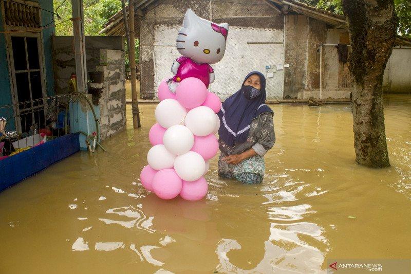 Banjir rendam ribuan rumah di 30 desa Kabupaten Karawang