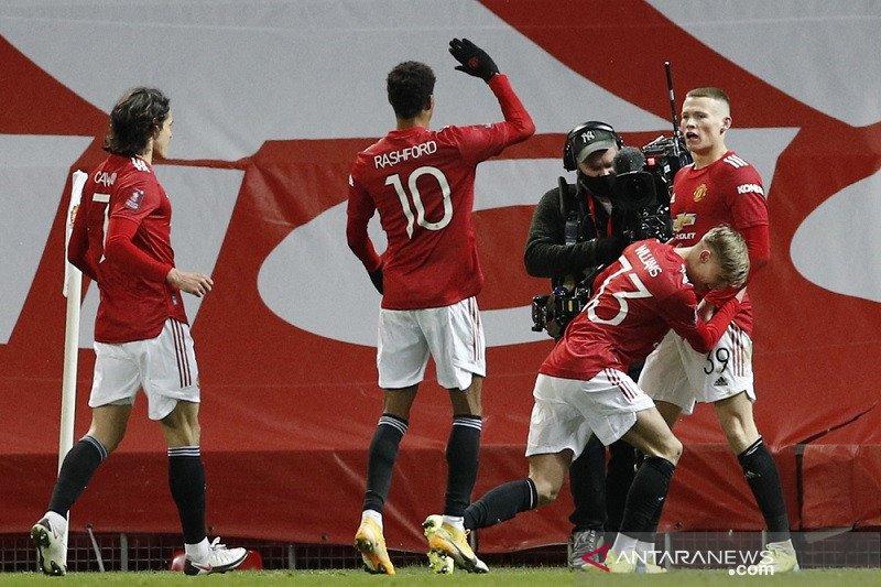 Piala FA – Gol tunggal McTominay antar MU ke perempat final