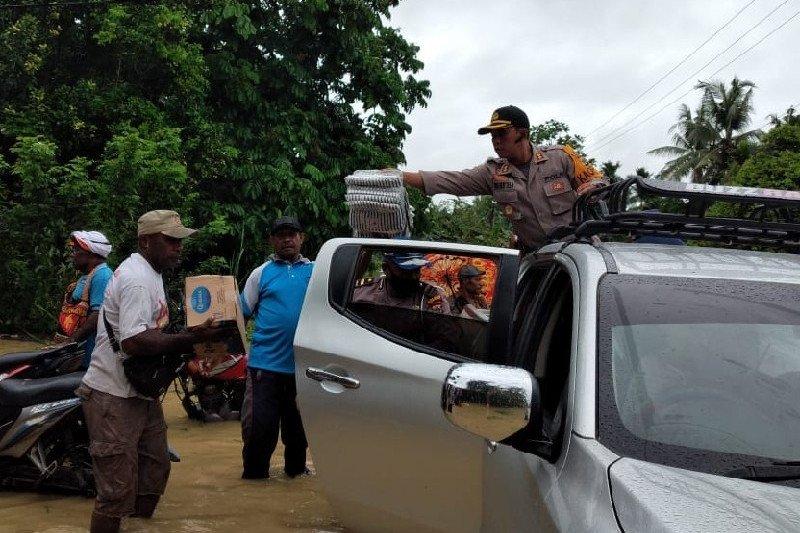Banjir rendam rumah 1.155 KK  di Keerom Papua