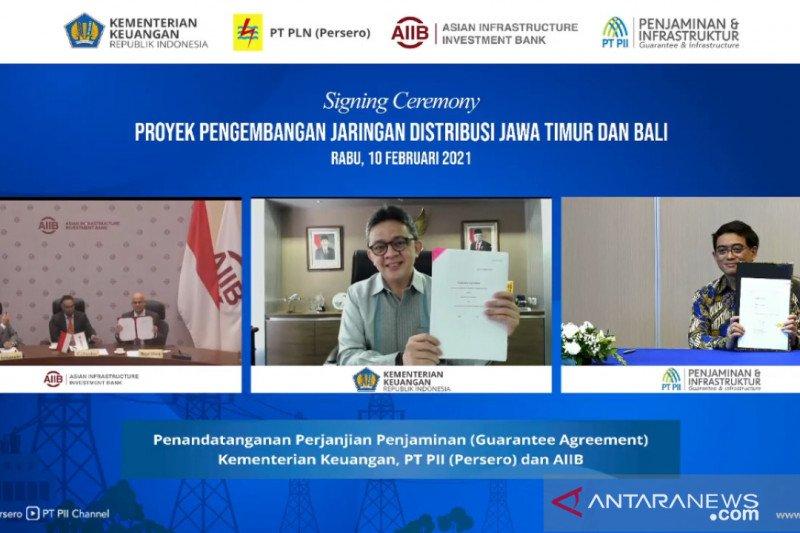 PLN raih pembiayaan dari AIIB bangun jaringan distribusi Jatim-Bali