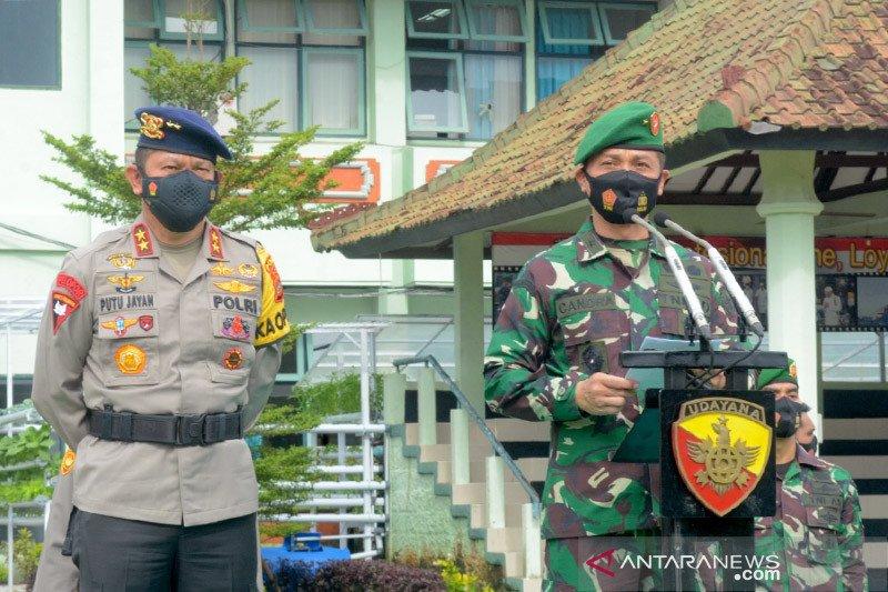 Kodam IX/Udayana siapkan 540 nakes TNI jadi vaksinator di Bali