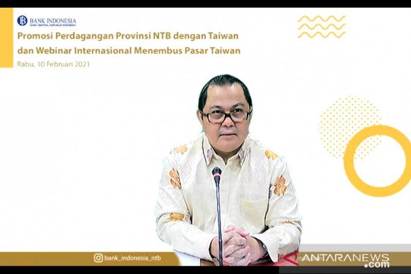 BI-KDEI Taipei menggelar promosi perdagangan NTB ke Taiwan secara virtual