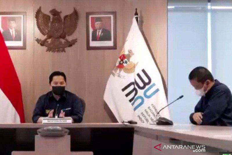 Menteri Erick: Garuda putuskan kembalikan pesawat Bombardier CRJ 1000
