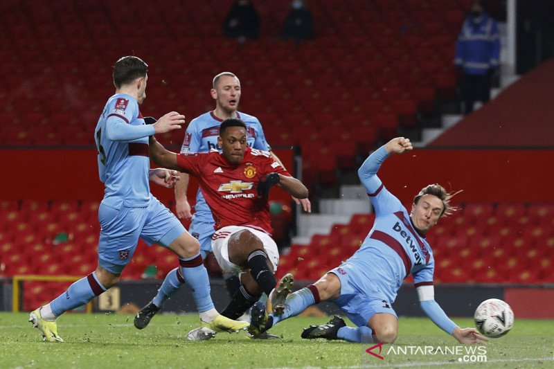Piala FA: Gol McTominay menangkan Setan Merah atas  West Ham