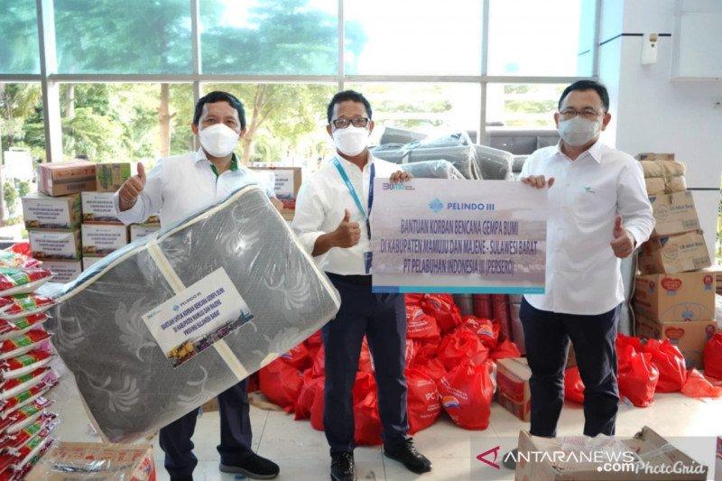 Pelindo IV distribusikan bantuan IPC untuk korban gempa