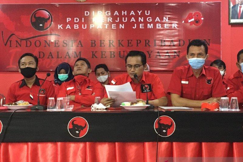 PDIP pilih oposisi terhadap Bupati-Wabup Jember 2021-2024