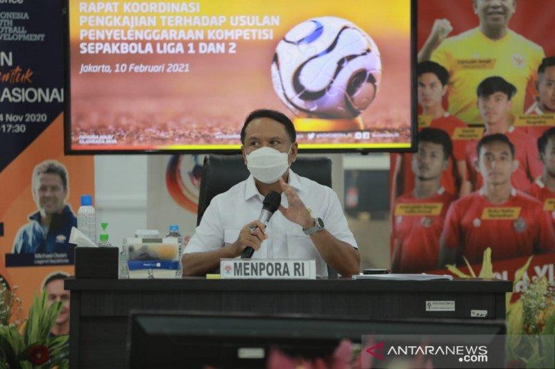 Menpora: Presiden minta Liga 1 dan Liga 2 disiapkan dengan matang