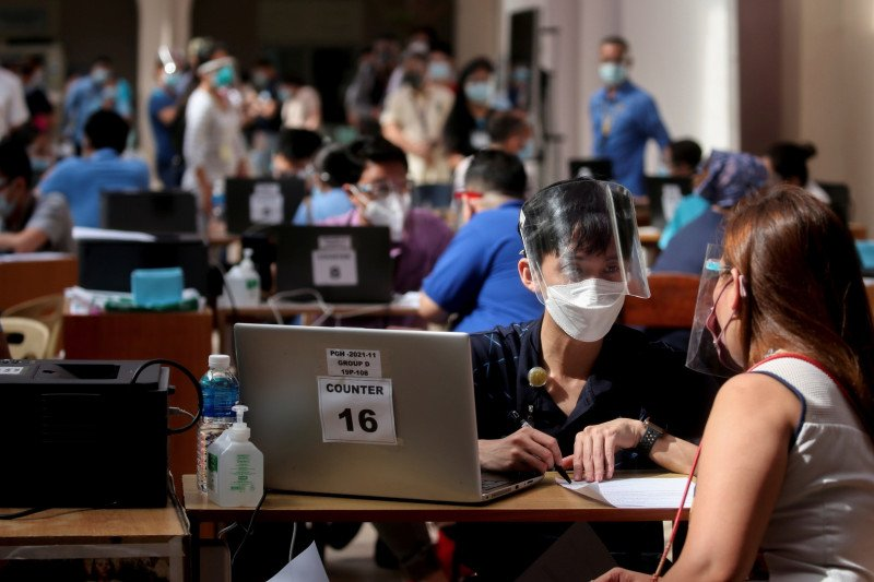 Filipina setujui vaksin Sinovac, namun tidak untuk semua petugas medis
