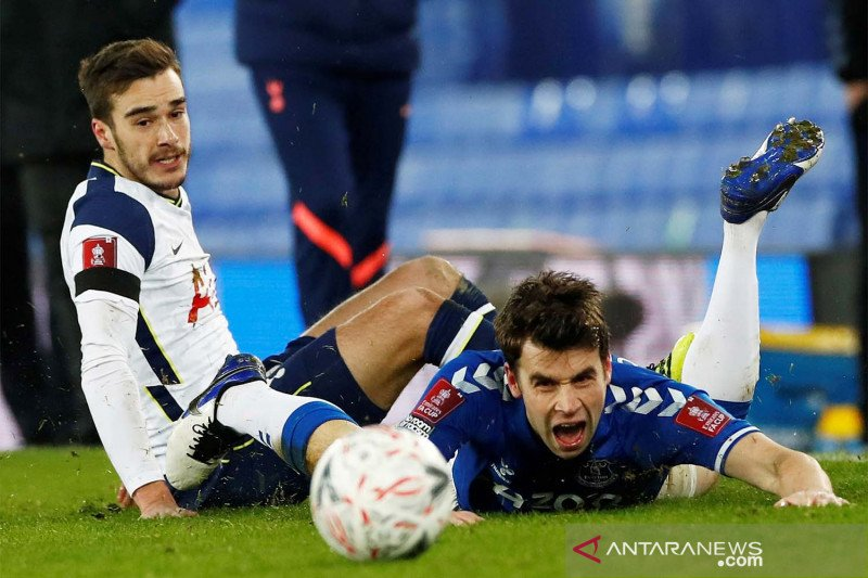 Piala FA : Everton singkirkan Tottenham 5-4