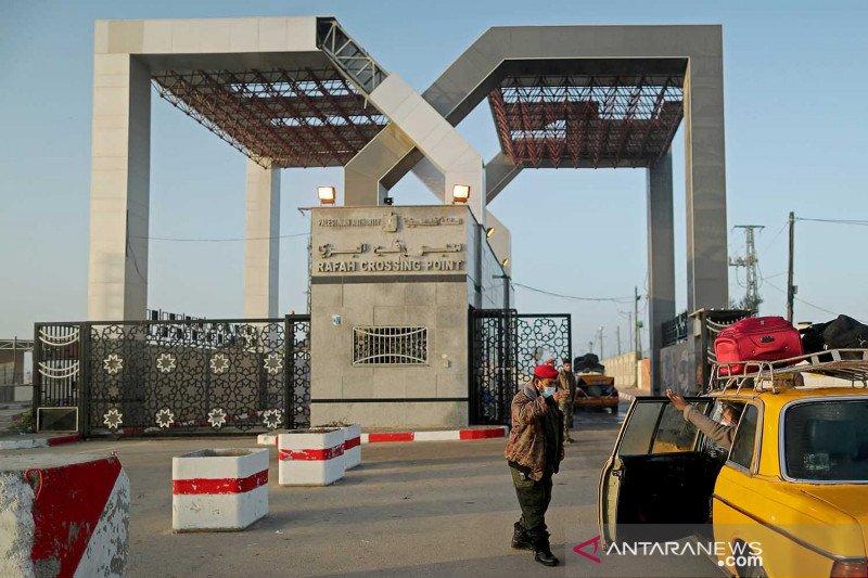 Mesir buka perlintasan perbatasan Rafah