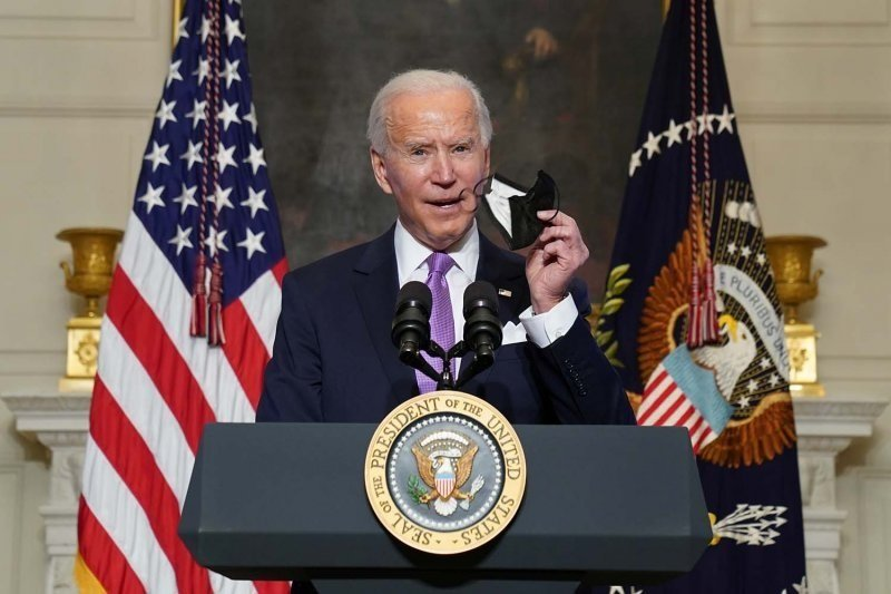 Presiden Biden pertama kalinya telepon Raja Saudi