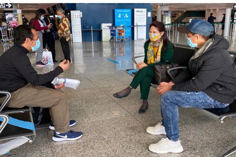 Dibebaskan dari penyanderaan Libya, dua ABK WNI pulang ke Tanah Air