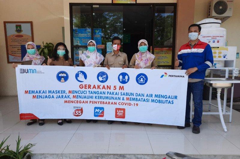 Puskesmas di Cilegon-Banten dibantu alkes tenaga medis dari Pertamina