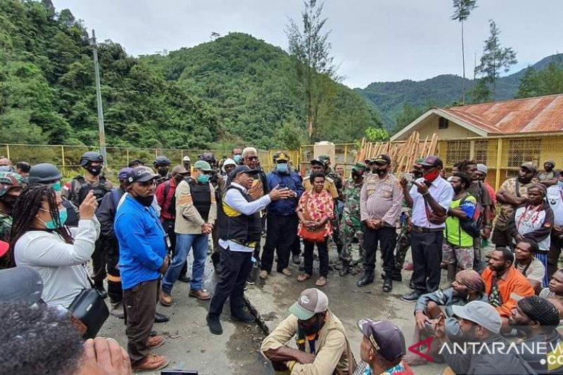 Pemkab Mimika-Freeport diajak bangun lagi infrastruktur Kampung Banti