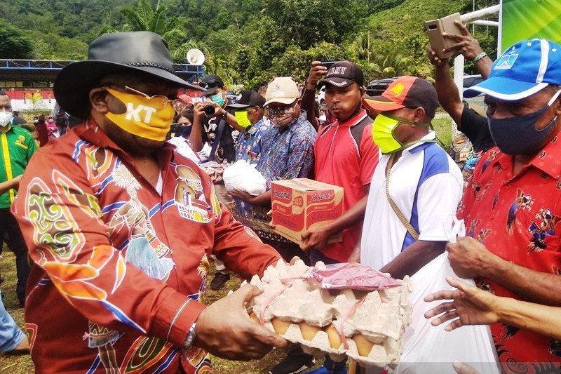 Wagub Papua minta SKPD terkait bantu tangani banjir Keerom
