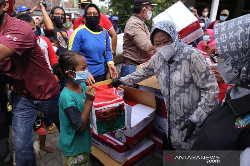 Kemensos kirimkan bantuan untuk korban banjir di Jombang