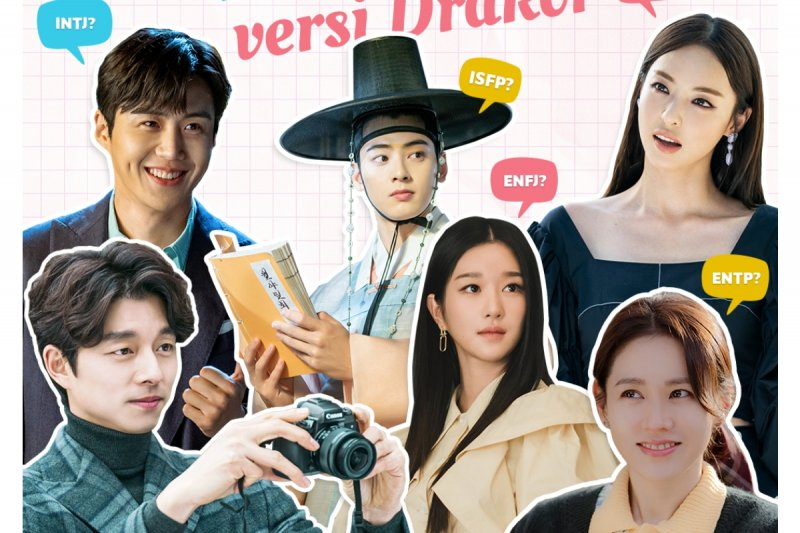 Cek pasangan drama Korea idealmu berdasarkan tes kepribadian MBTI