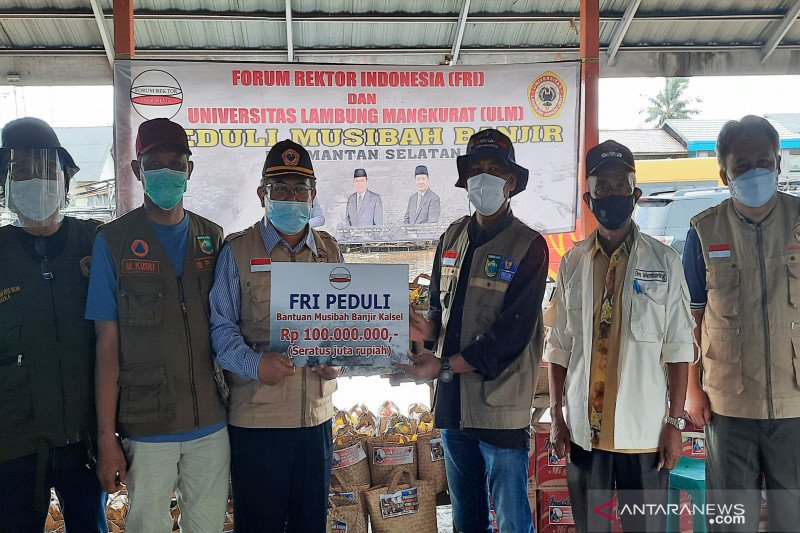 Forum Rektor Indonesia bantu pemulihan pascabanjir di Kalsel