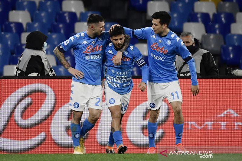 Liga Italia – Lorenzo Insigne antar Napoli bekap Bologna 3-1