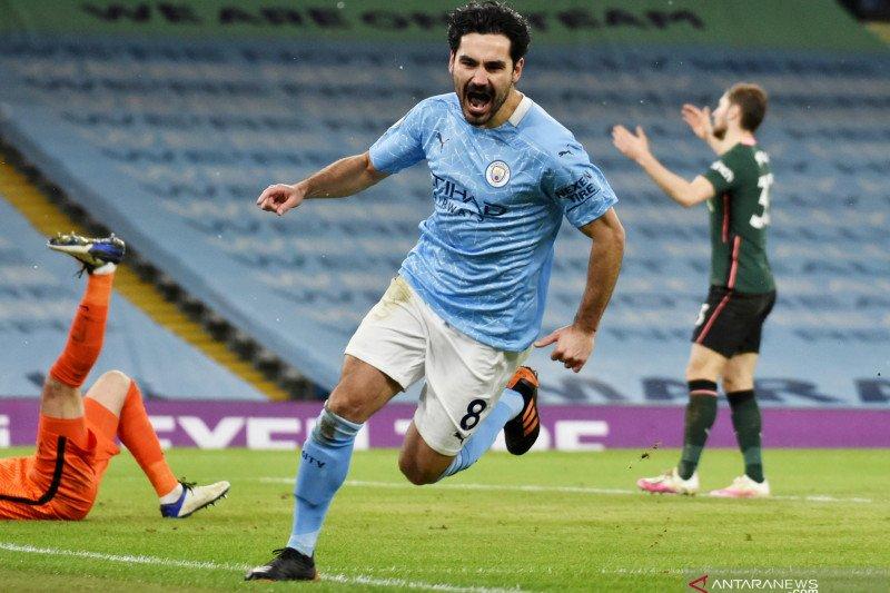 Ilkay Gundogan siap pensiun di Manchester City