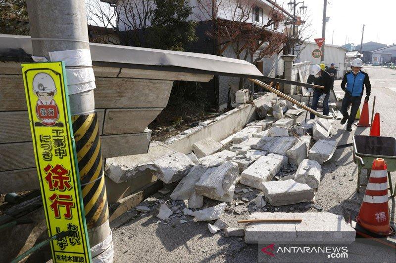 BMKG: Kerusakan gempa Fukushima ringan karena bangunan tahan gempa