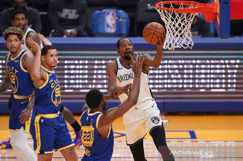 Cedera hamstring, Kevin Durant menepi dua pertandingan