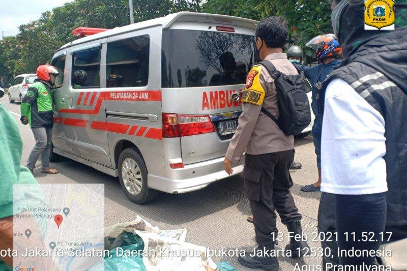 Polisi selidiki kecelakaan tewaskan penyeberang di Lenteng Agung