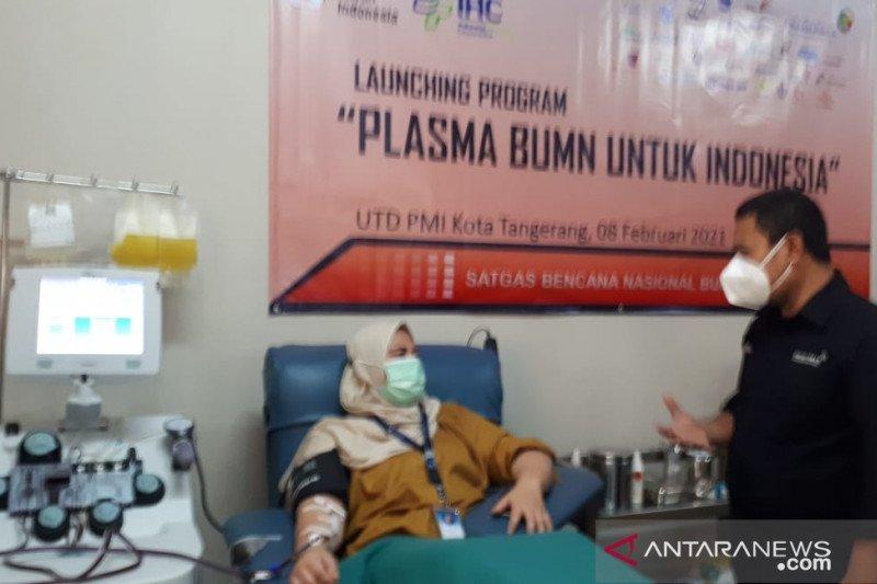PMI - Polsek Jatiuwung sosialisasi donor plasma konvalesen