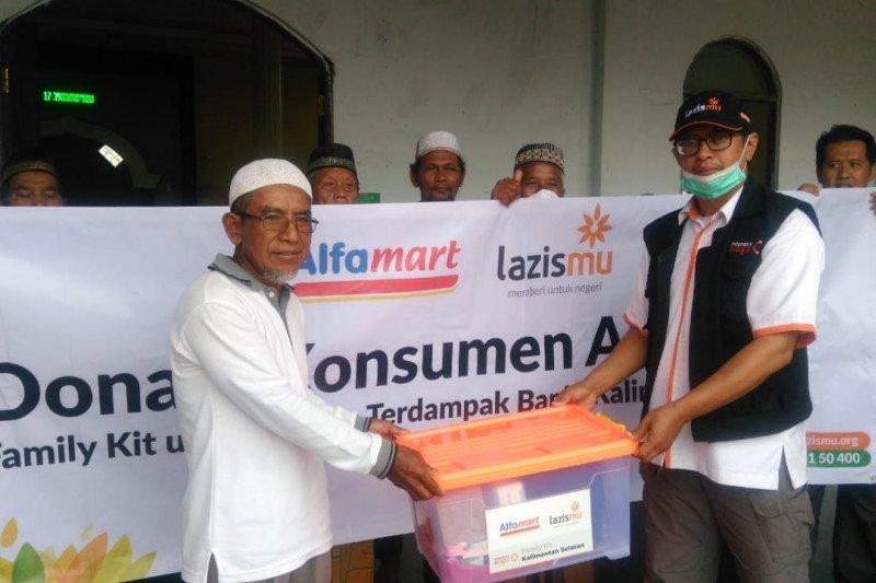 Lazismu kelola donasi pelanggan Alfamart Rp3,21 miliar lebih