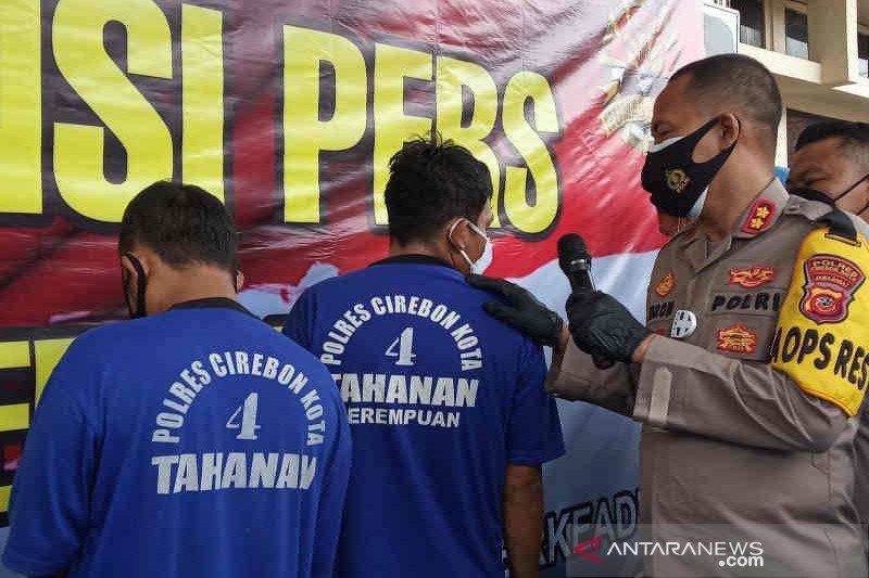 Polres Cirebon membekuk komplotan pencuri mobil lintas provinsi
