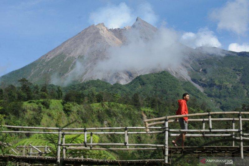 BPPTKG: Awan panas Merapi tak muncul karena suplai magma kecil