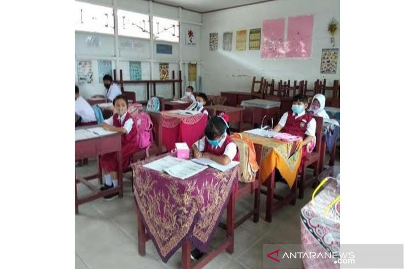 200 sekolah di Barito Utara mulai belajar tatap muka